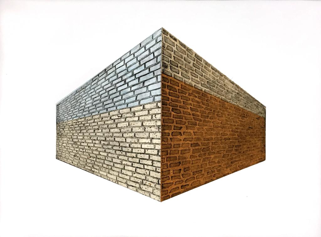 Brick Wall_Hanji