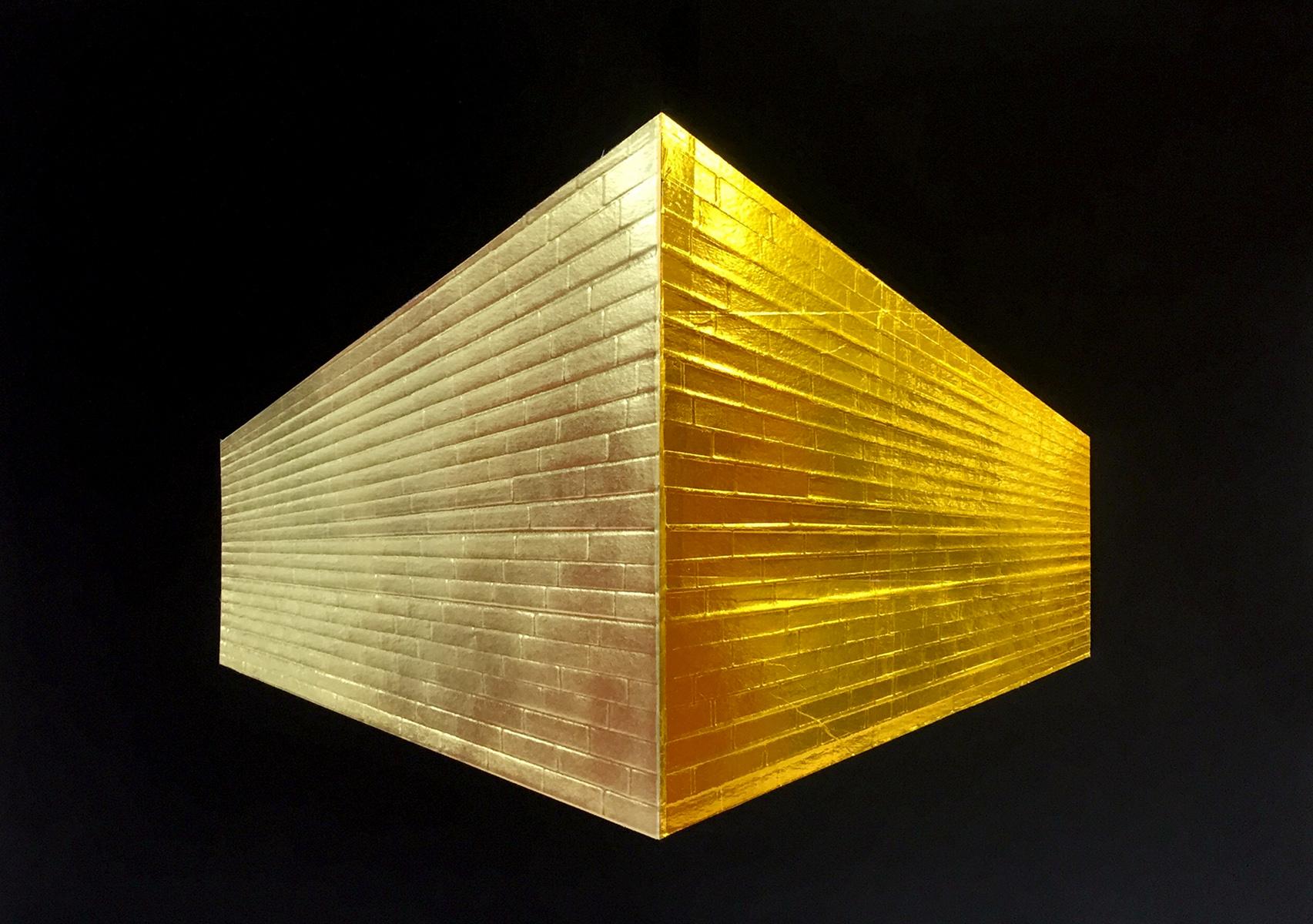 Brick Wall_Gold