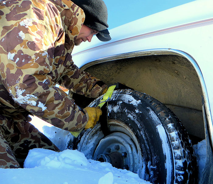Trac-Grabber, the best vehicle recovery product on the market, are able to get you unstuck in the most adverse weather conditions.