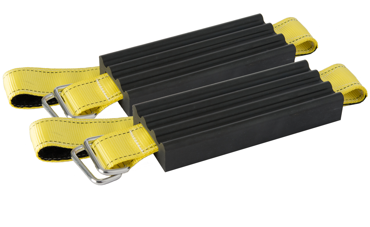Dual-pack of Trac-Grabber, the best vehicle recovery product on the market.
