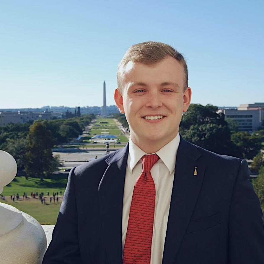 John Olds , Policy Advisor   George Washington University College Republicans President