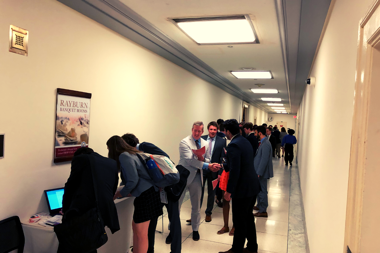The line to attend our Congressional briefing stretched all the way down the hallway.