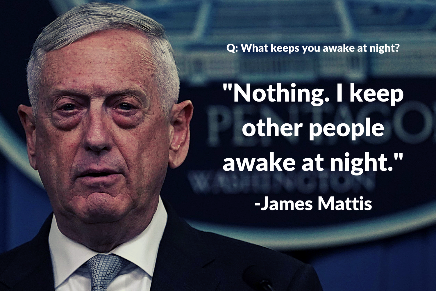 General Mattis is someone who knows how to win, and solving climate change is no exception. #CarbonDividends #MattisVsClimateChange