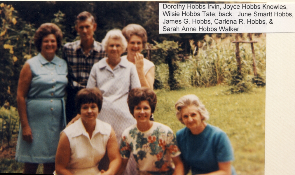 Herman & Carlena Rubley Hobbs Family