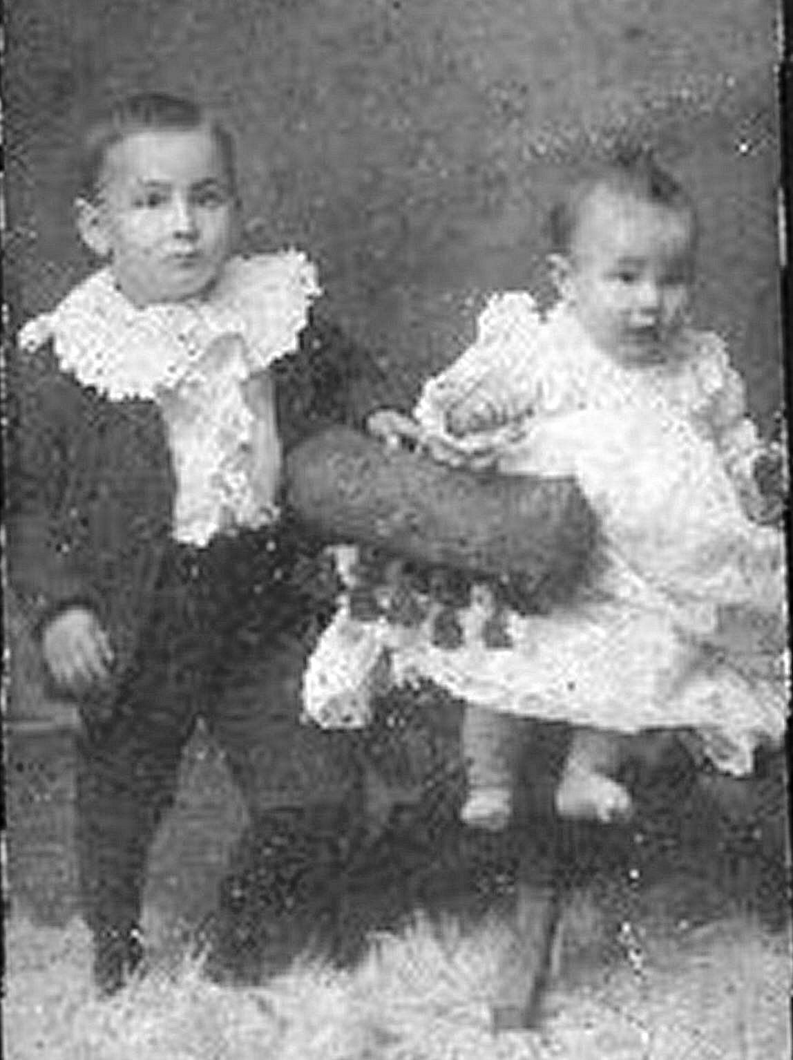 Clarence & Madge Rubley ca 1903