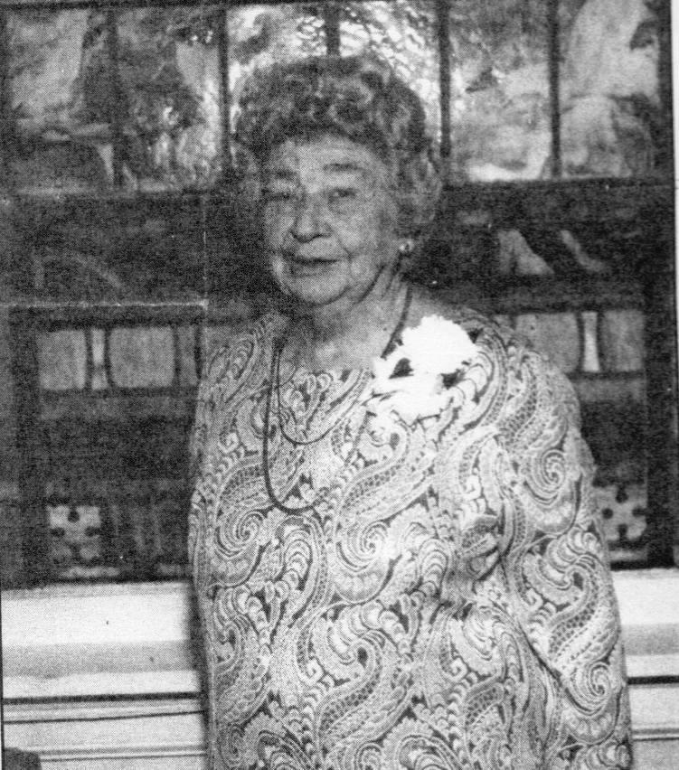 Viola Mae at 90