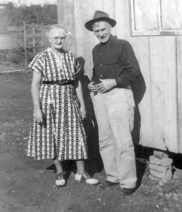 Albert with Wife Lenoa Manasco Rubley