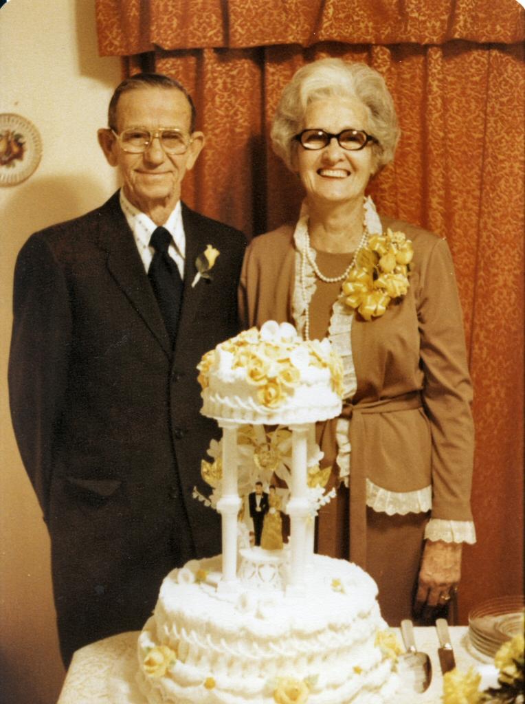 Arnold & Viola Rubley Jefferson  50th Wedding Anniversary