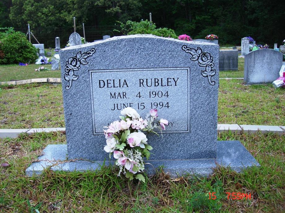 Delia Rubley (Daughter of William)
