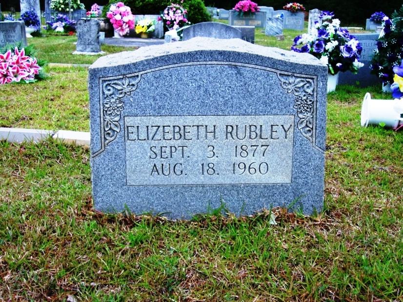 Elizabeth Holland Rubley (Wife of William)