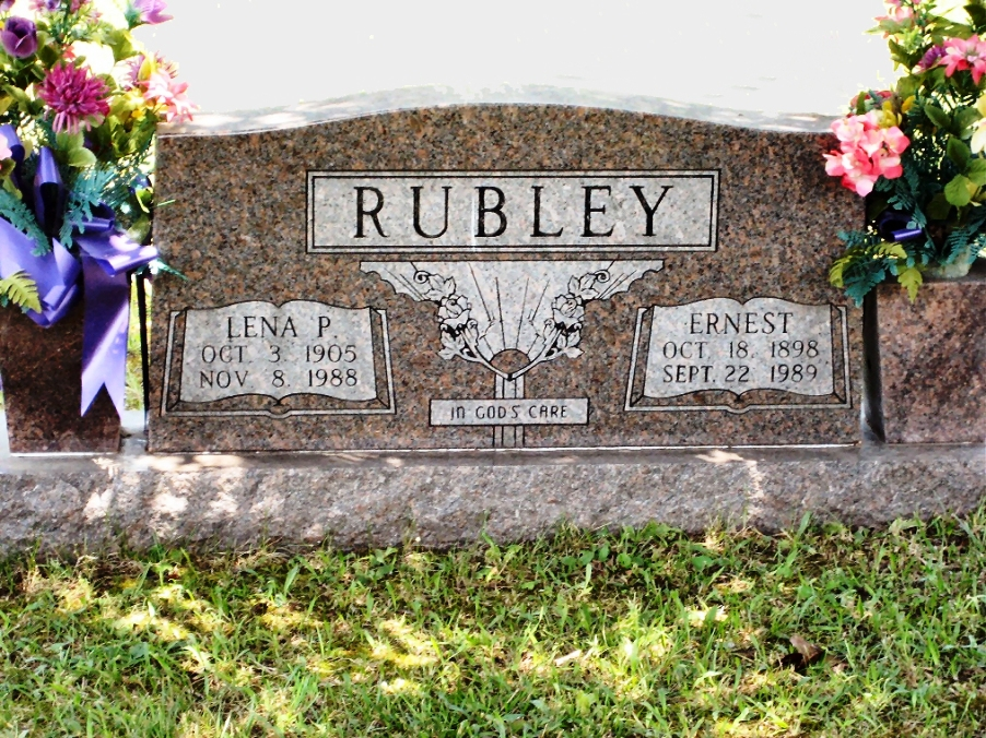 Ernest Rubley  (Son of Charles Jr.)  King Cemetery, Grundy Co, TN