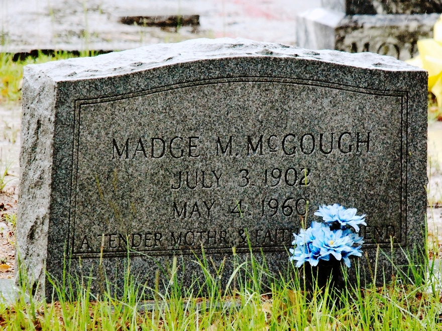 Madge Rubley McGough (Daughter of Emil)