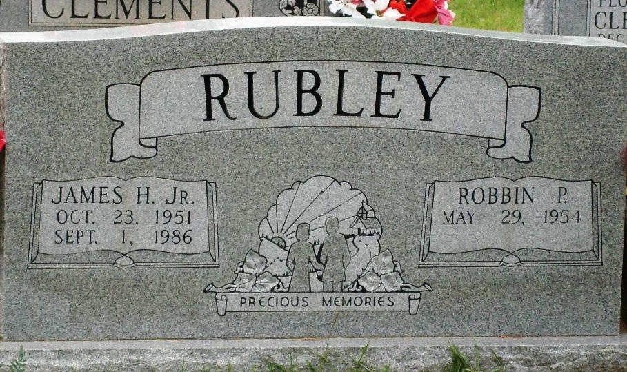 James Harold Rubley Jr.  (Grandson of James Louie Rubley)
