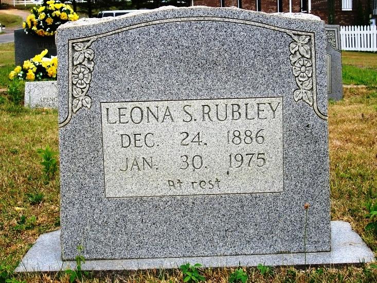 Leona Manasco Rubley  (Wife of Albert Rubley)