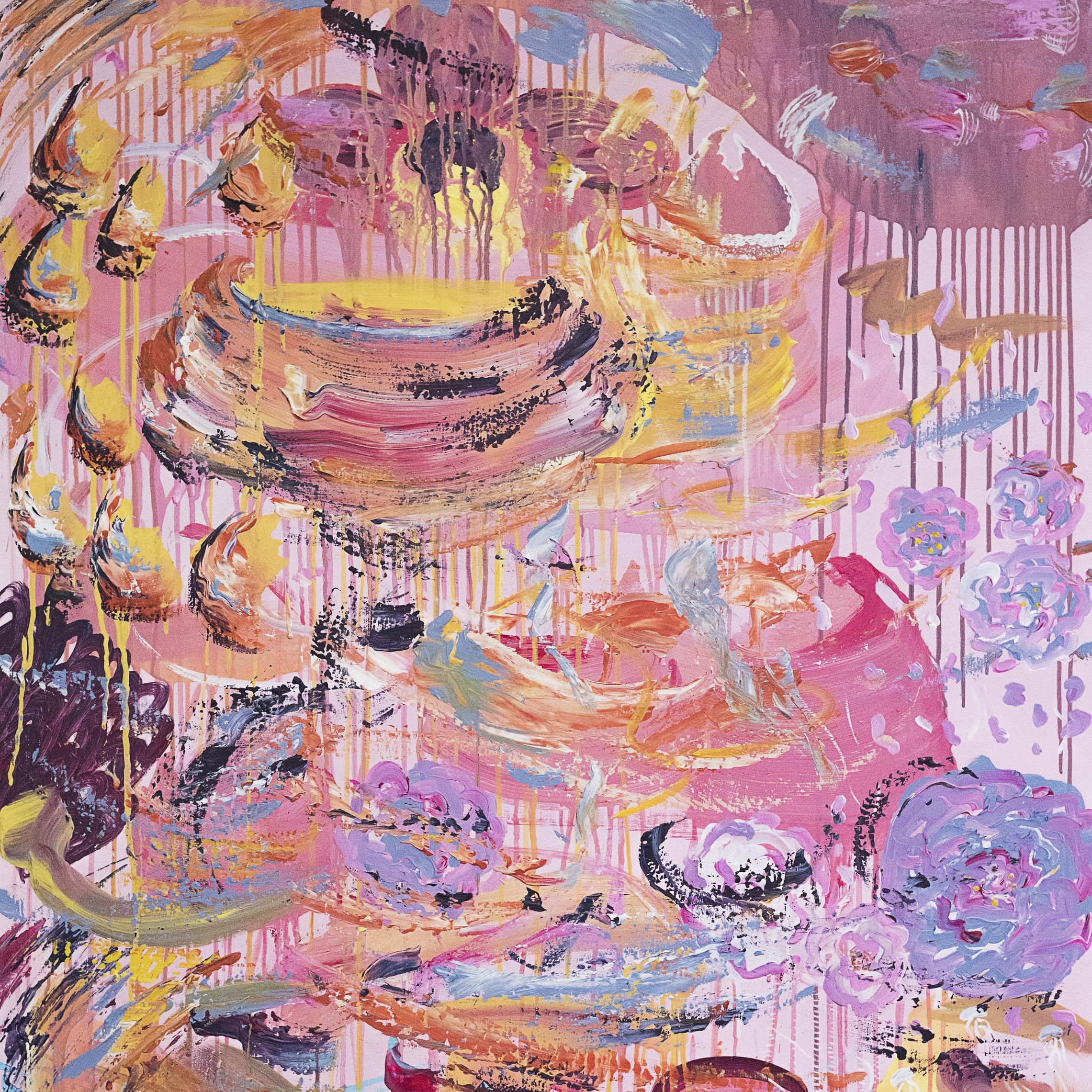 Acrylic on canvas -