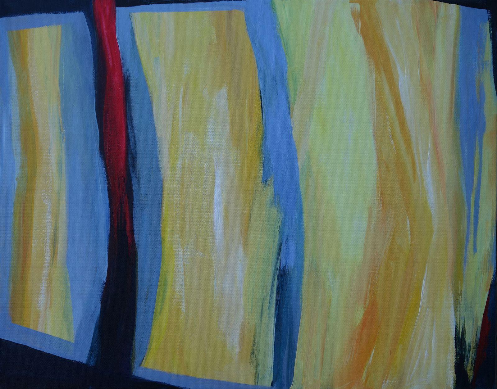 Yellow #6 three Rectangles