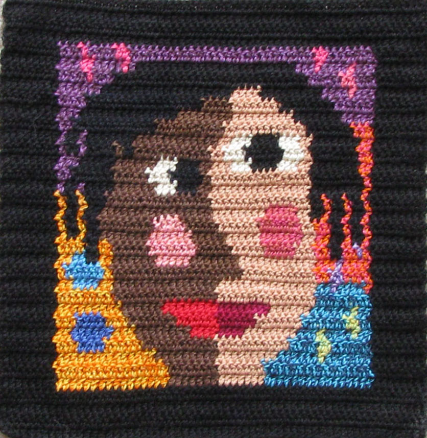 Crochet Play on Cubism