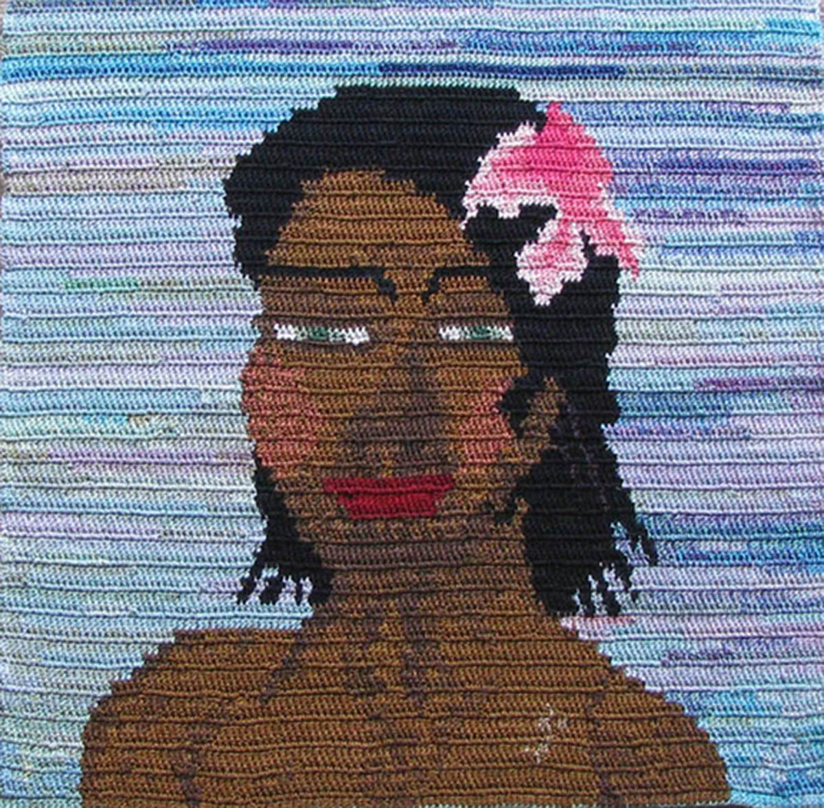 Lady with a Flower in Her Hair