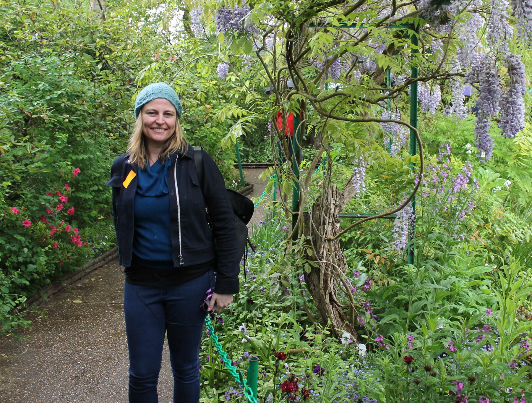 Me in Monet's Garden:  Giverny