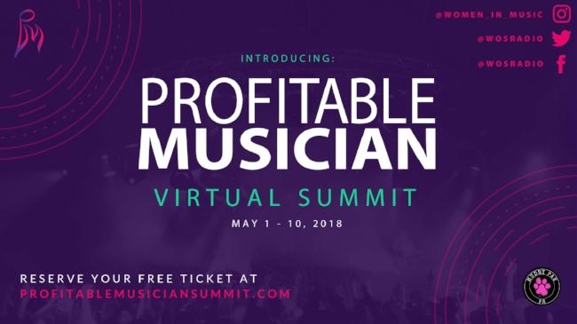 profitable musician summit bree noble music industry event virtual summit