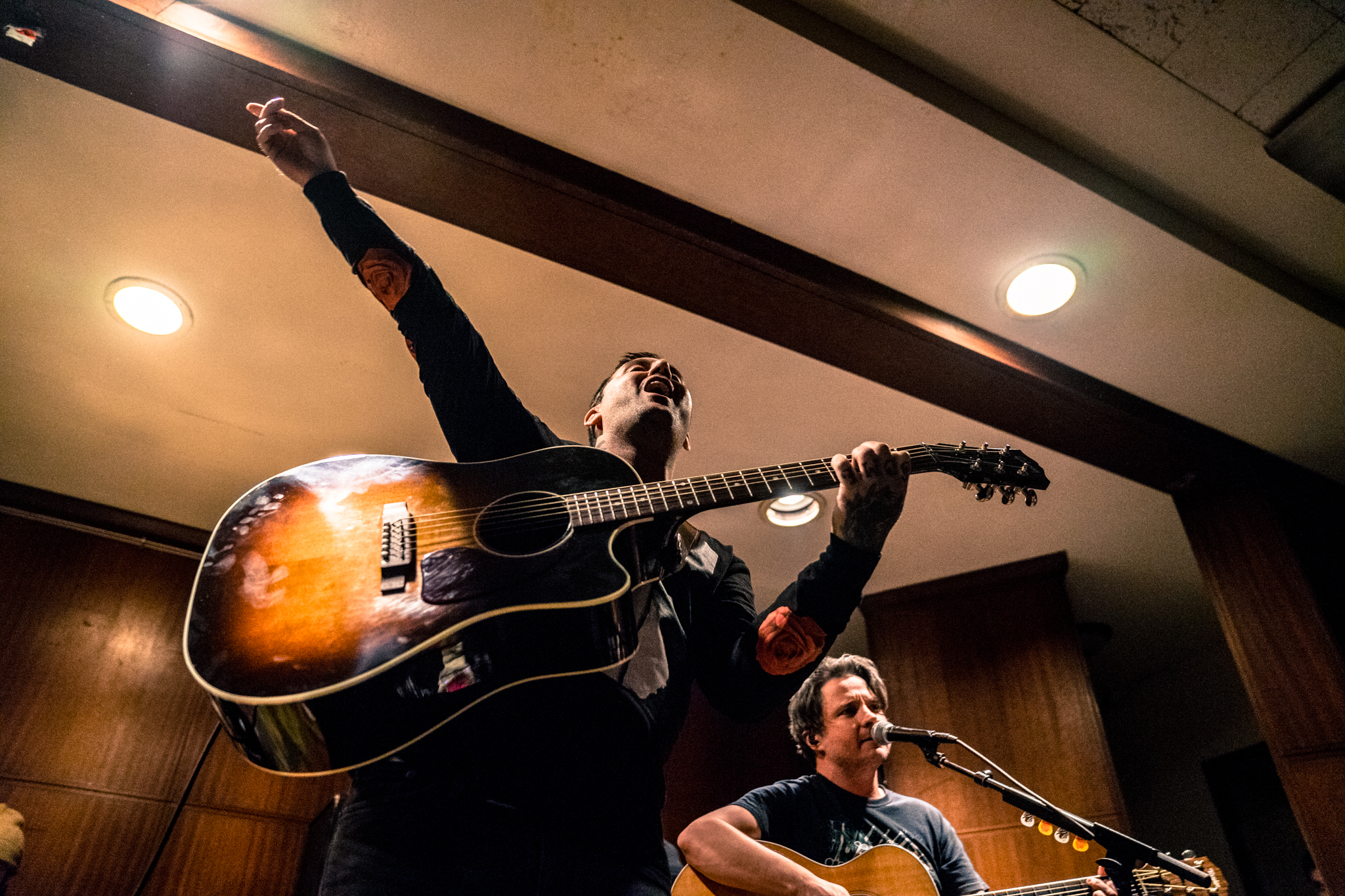 Bayside and Kayleigh Goldsworthy at First Unitarian Church
