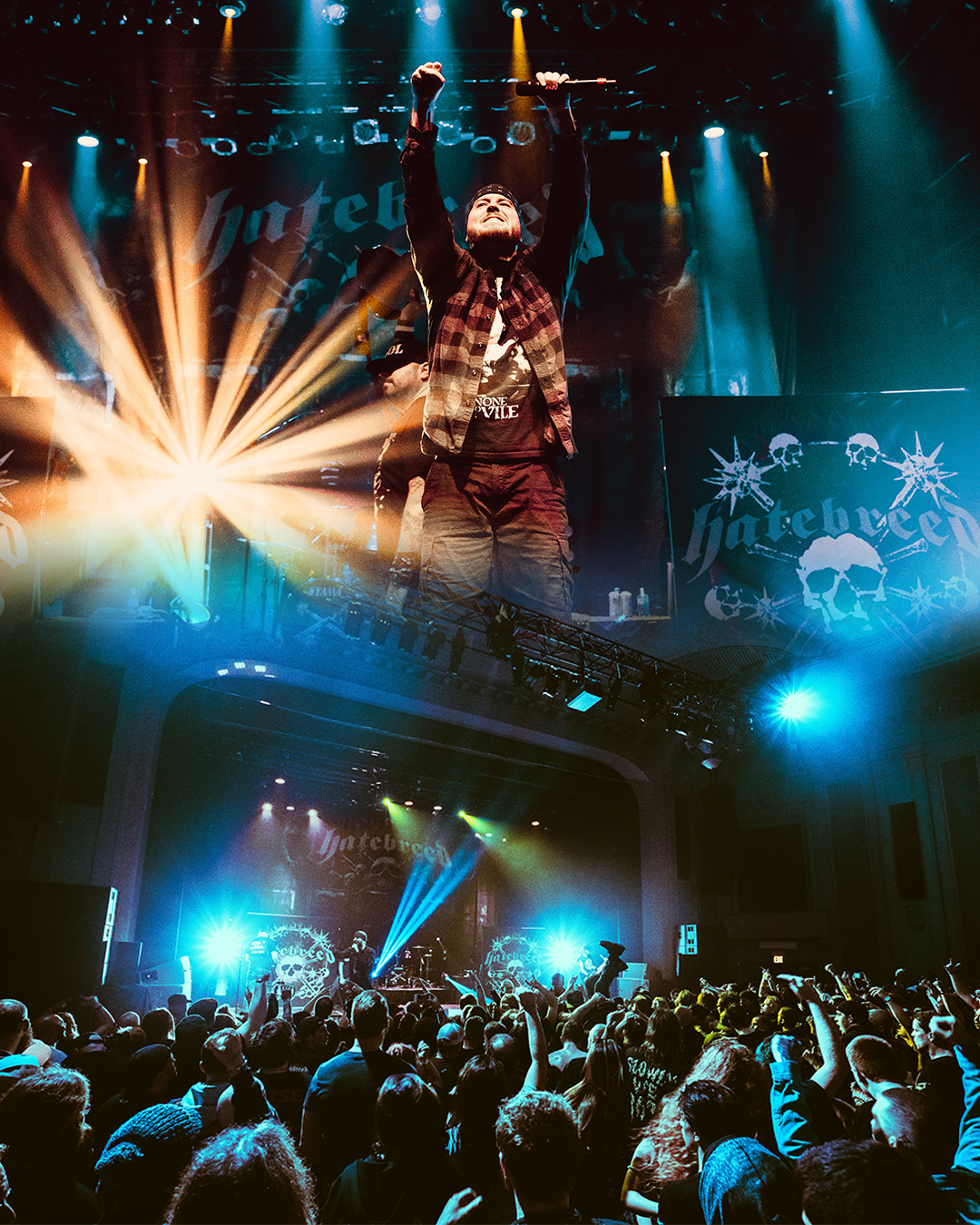 Hatebreed brings Tour to Danforth Music Hall in Toronto