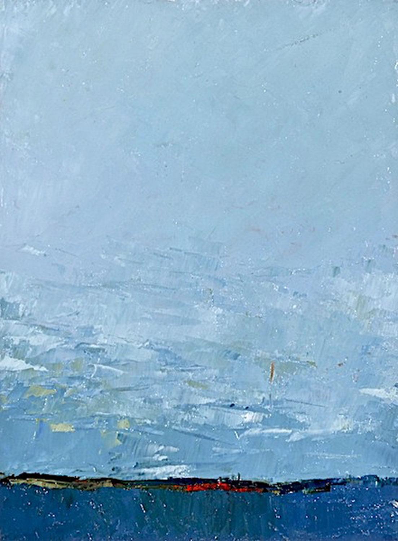 "Big Sky • Oil on canvas • 42 x 30"""