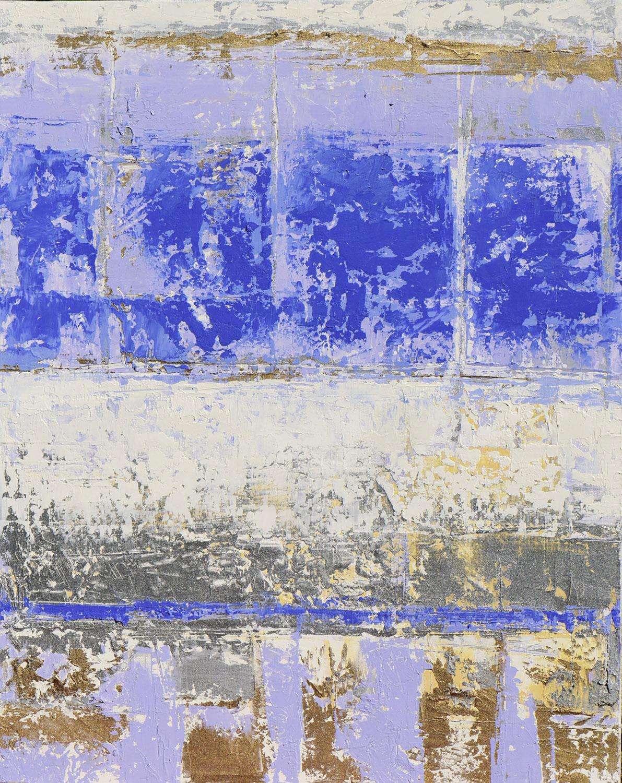 "Cornflower • Oil on canvas • 20 x 16"""