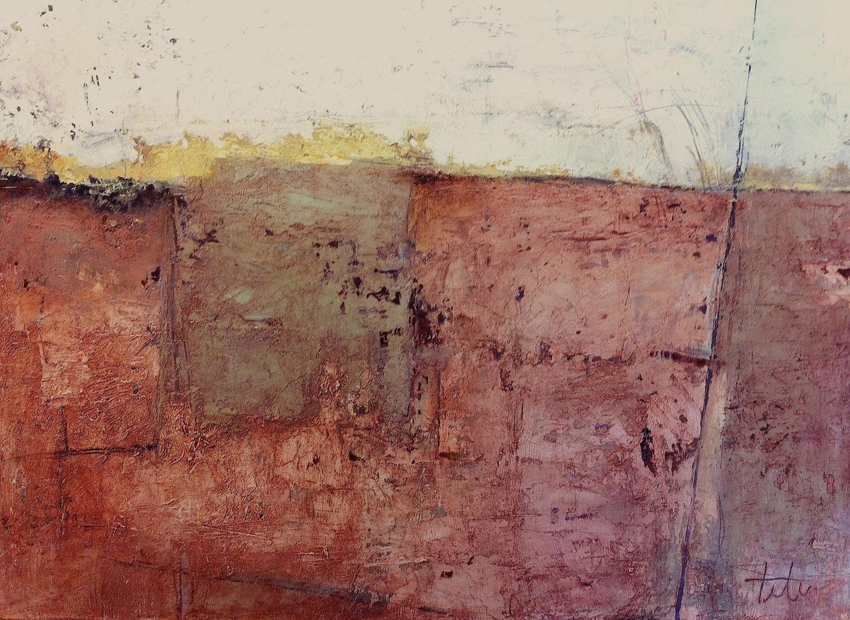 "Excavation • Oil on canvas • 24 x 30"""