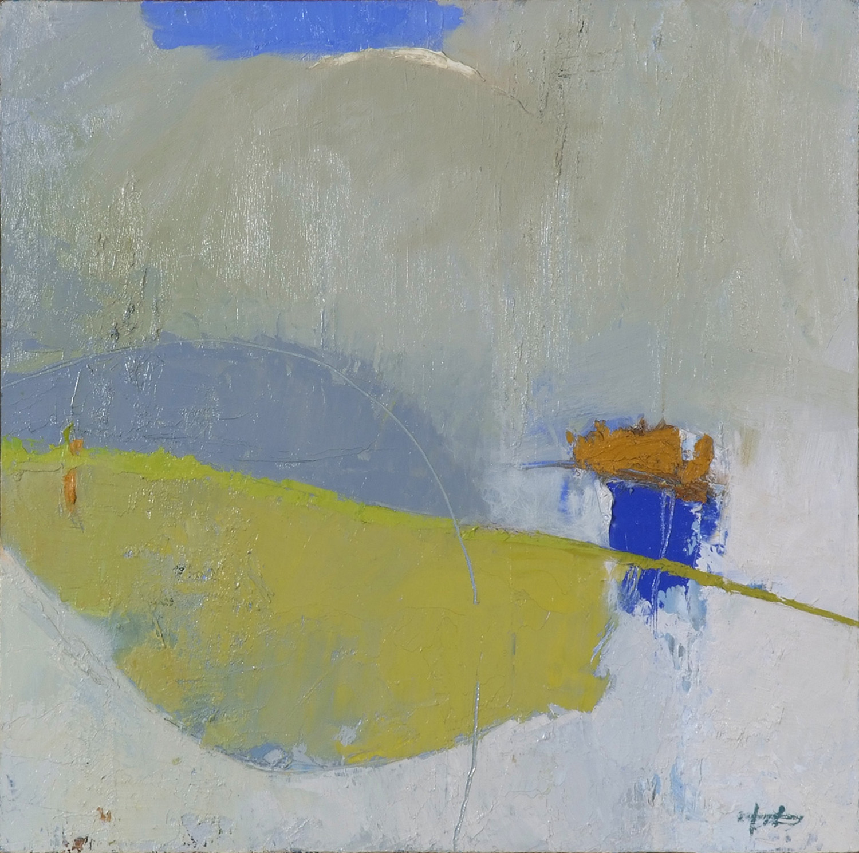 "Royal Blue • Oil on canvas • 24 x 24"""