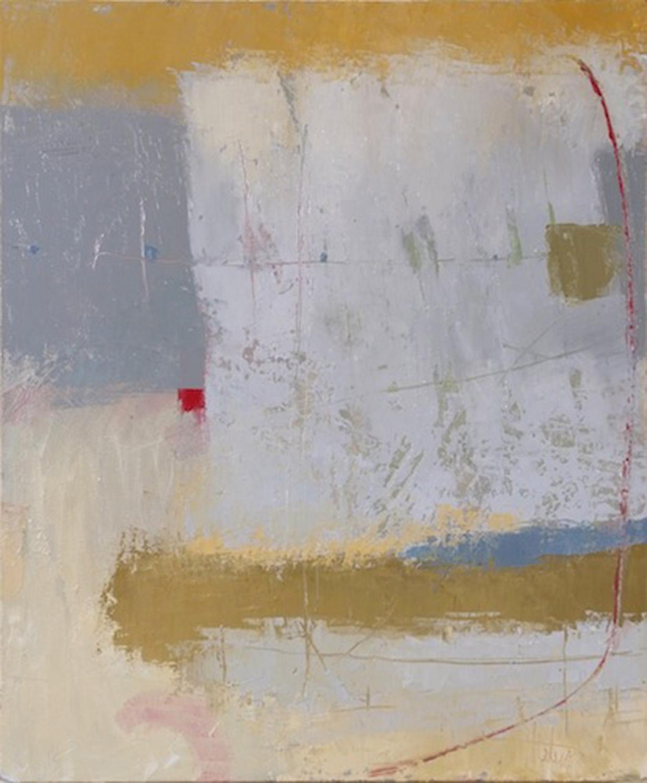 "Tender Gray • Oil on canvas • 36 x 30"""