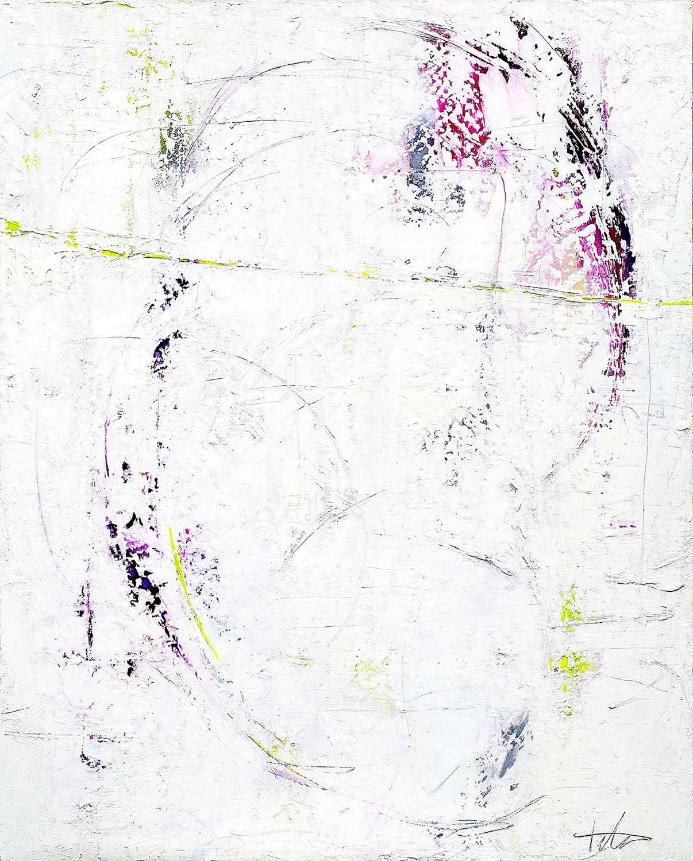 White on White • Oil on canvas • 5 x 4'
