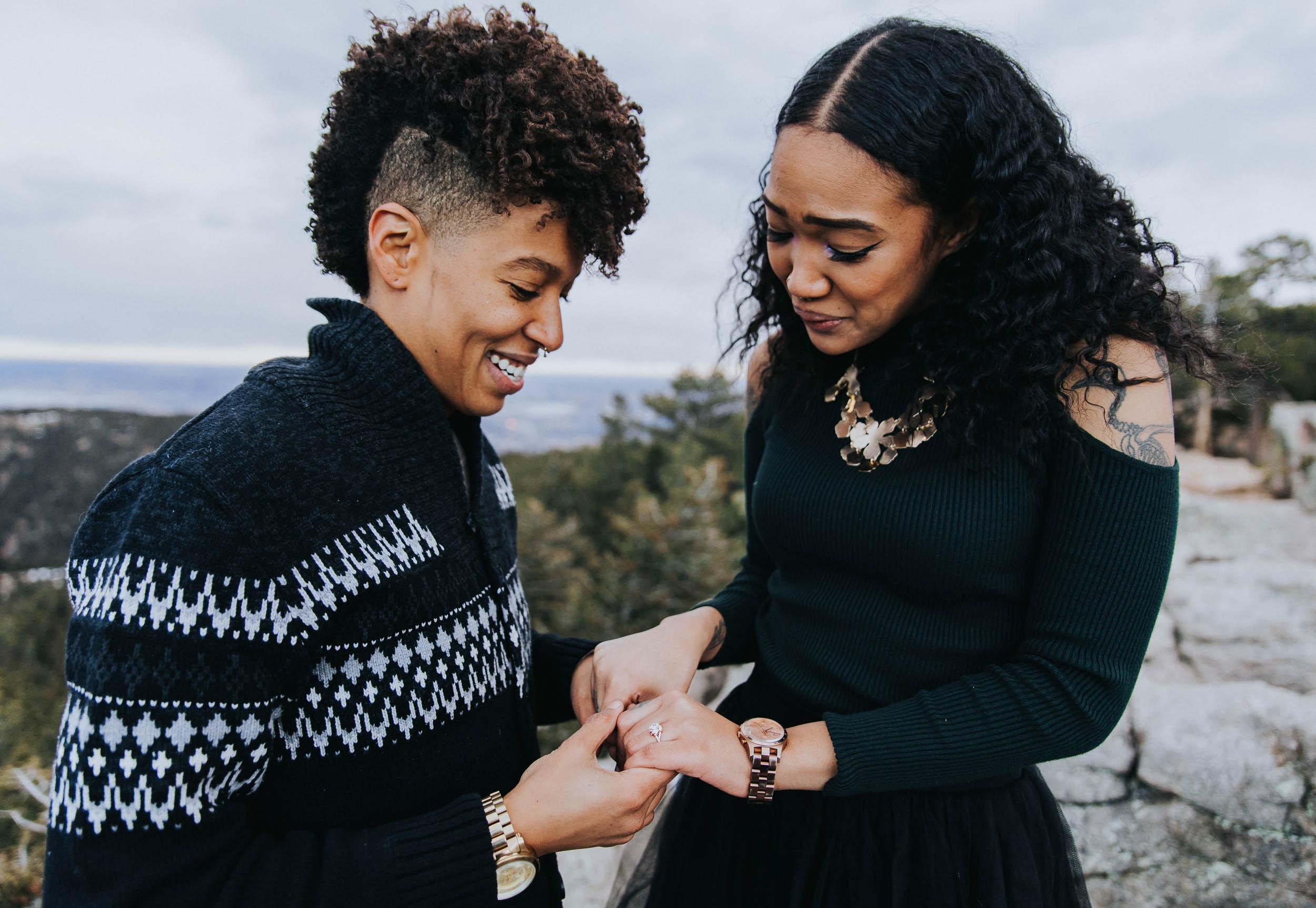 Lakeysha + Morgan's Surprise Proposal