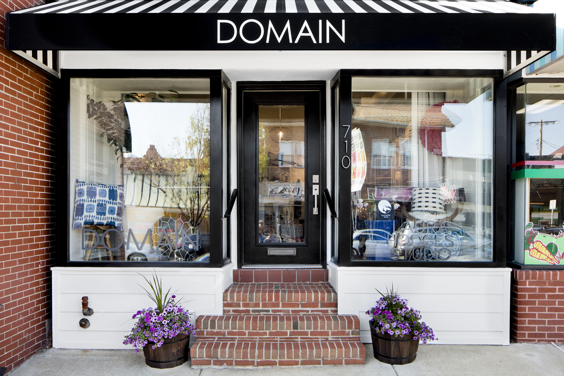 Domain: local and globally sourced fair trade and sustainable home decor, original art, gifts, and one-of-a-kind pieces.