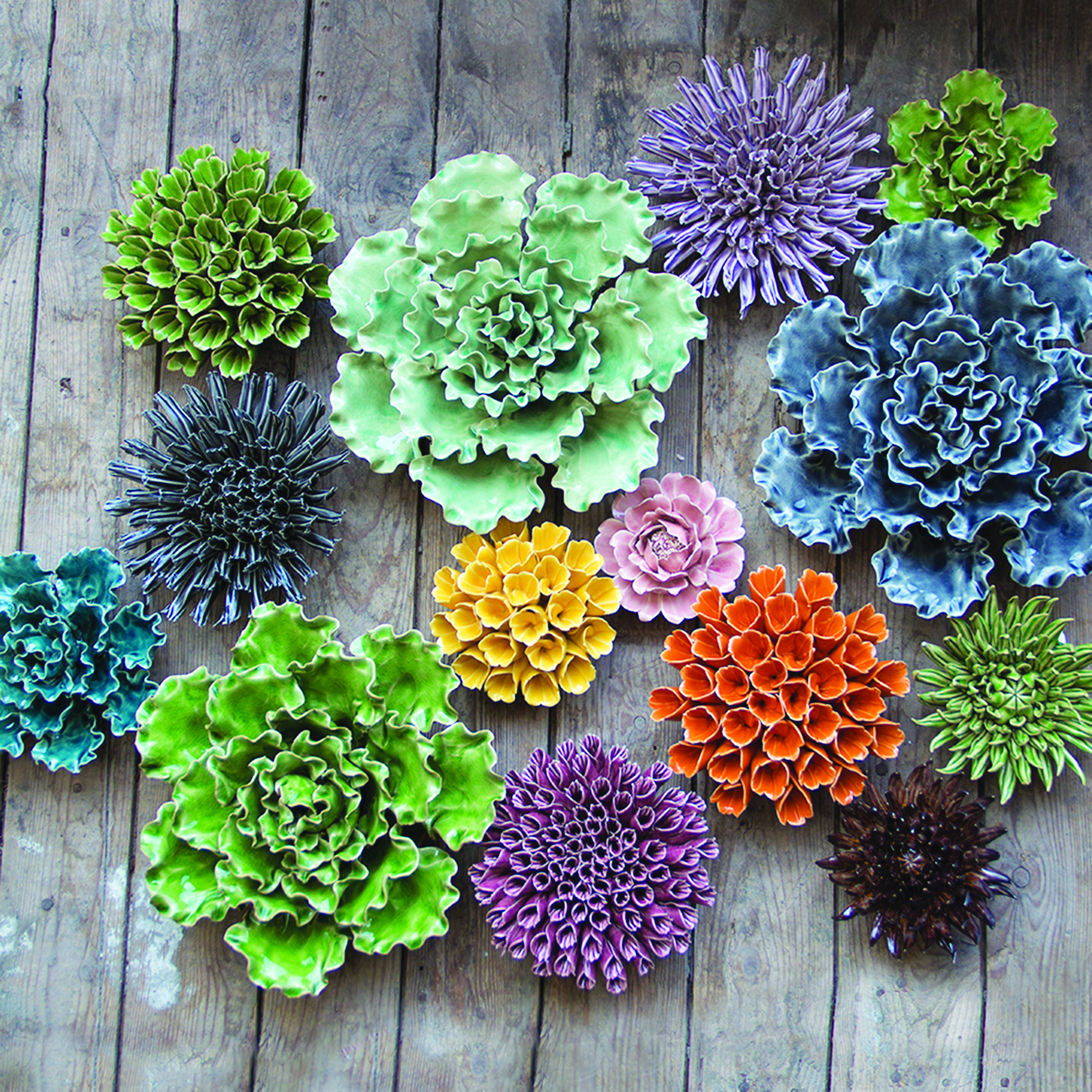 #2: Ceramic Succulents - Choose from a variety of ceramic succulents perfect for decorating any wall or table.