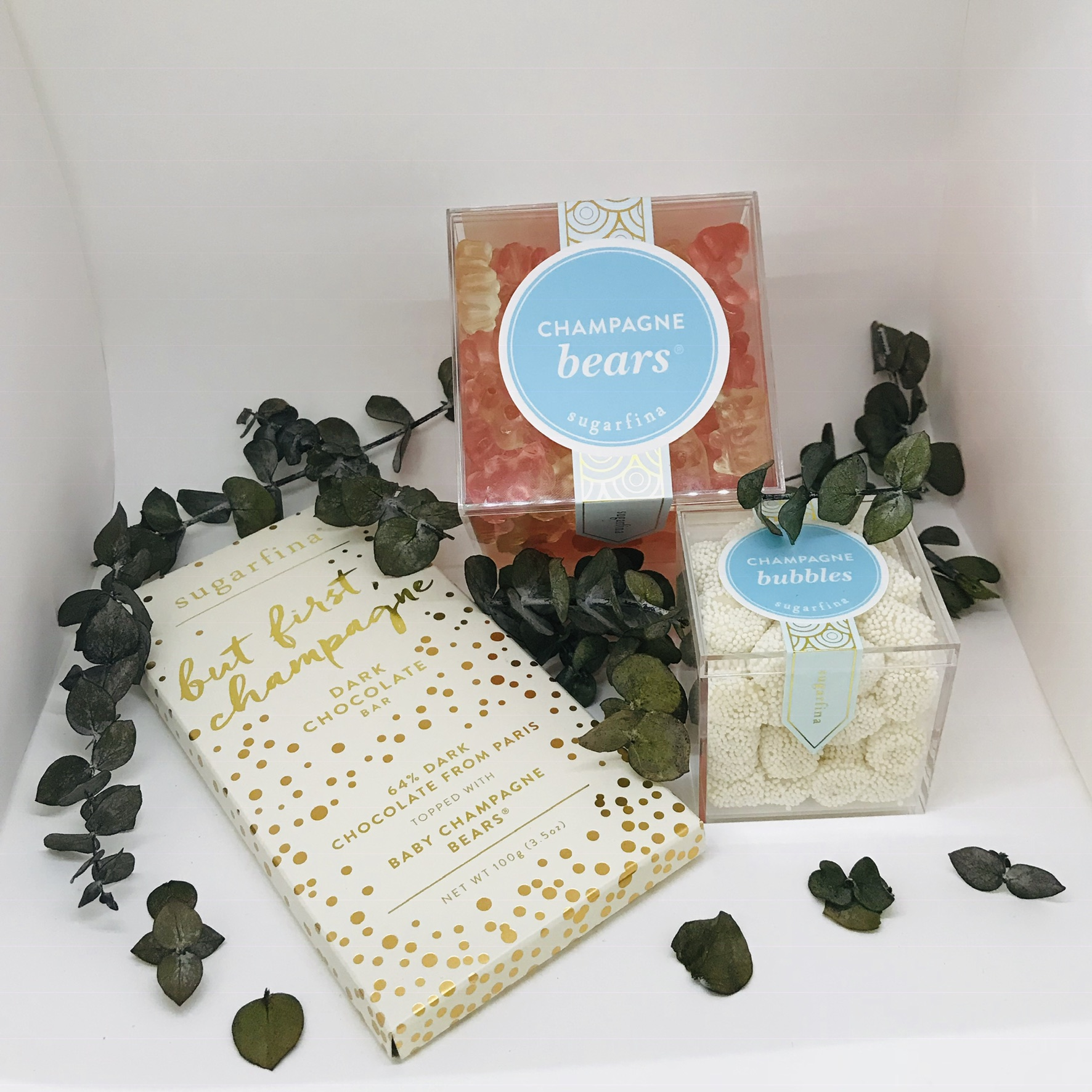 Gifts for your Boss - Win points with your boss this season with some sweets. Come shop our selection from Sugarfina the ultimate candy for grown-ups offering The Original Champagne Bears® and more cocktail-inspired treats.