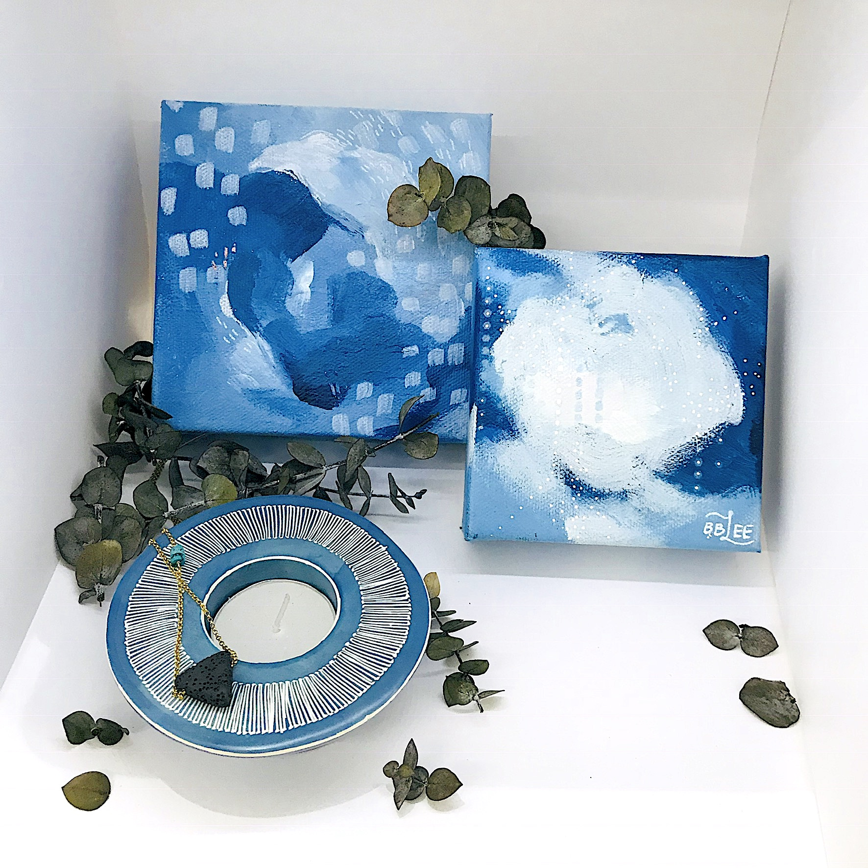 Gifts for your Sister - Show your sister some love with some local art from Becca Bastian Lee and a Soapstone candle holder.