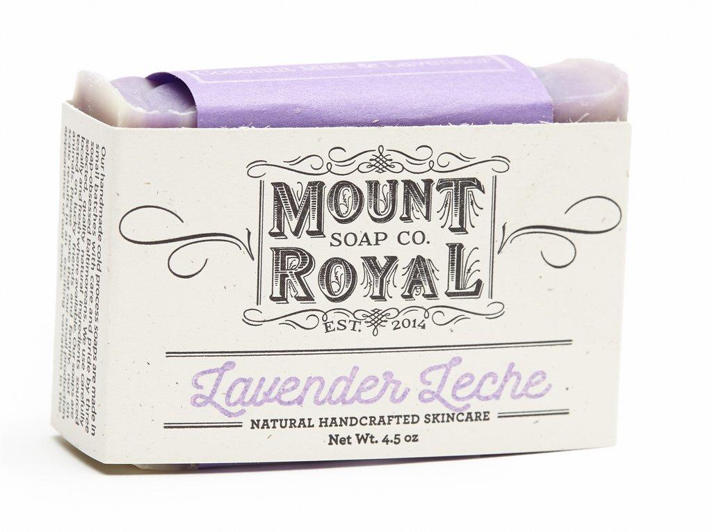 Mount Royal Soap Lavender Leche