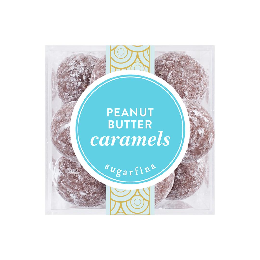 Peanut Butter Caramels