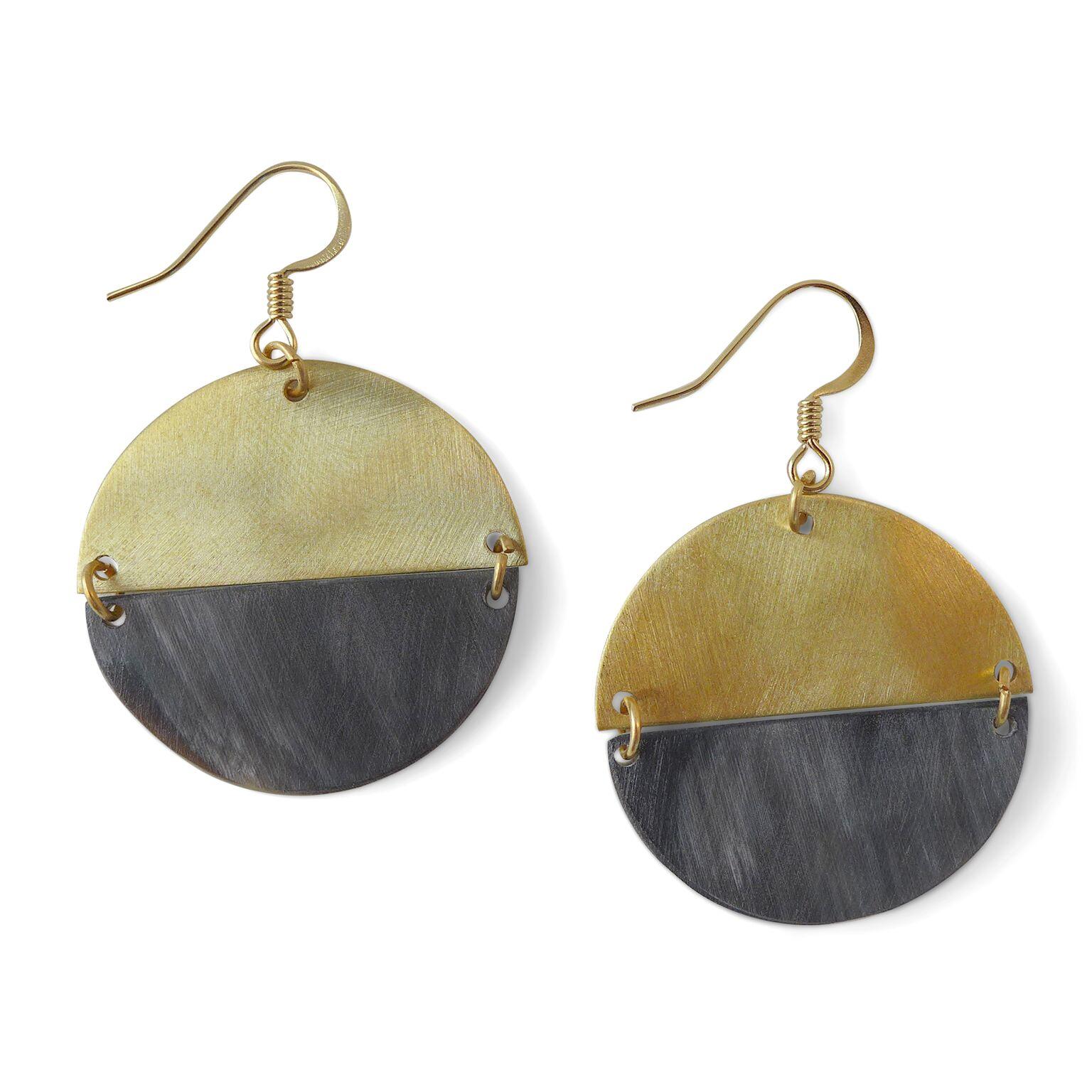 Domain-Fair Trade Winds-Brass and Horn Earrings.jpeg