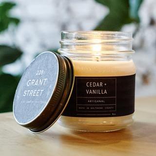 Cedar + Vanilla 228 Grant Street Candles