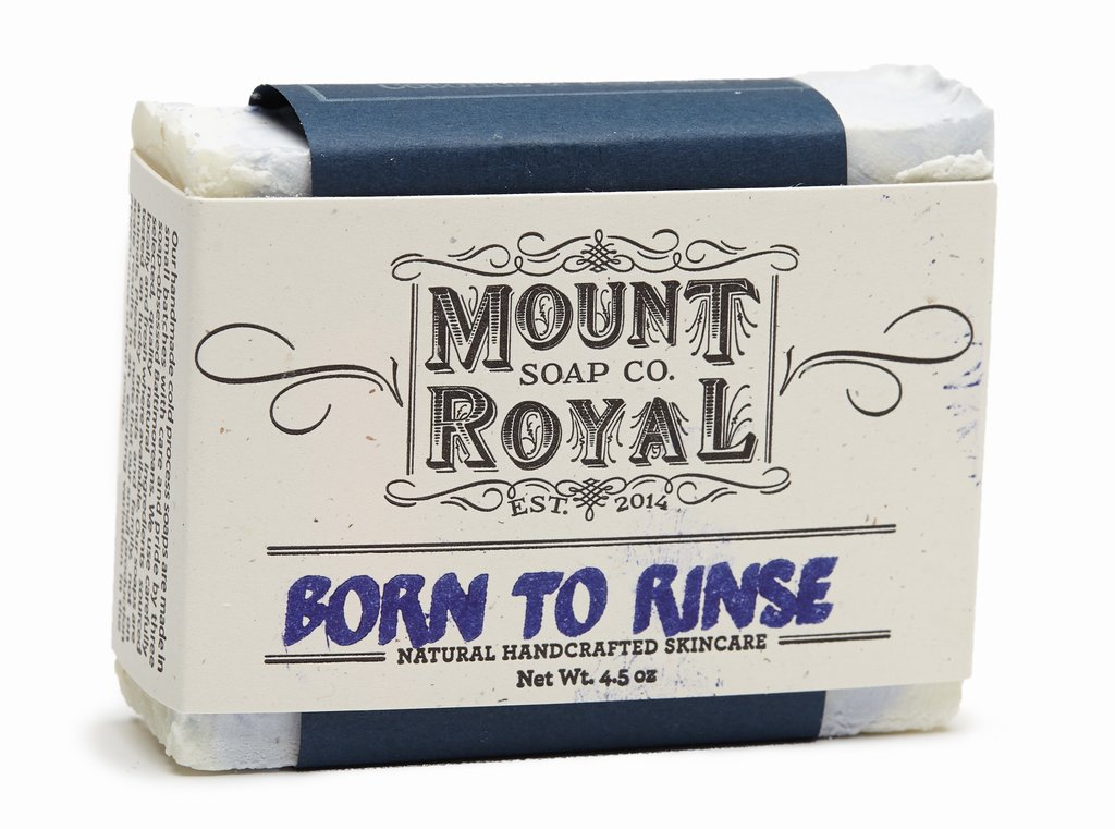 Born to Rinse Mount Royal Soap