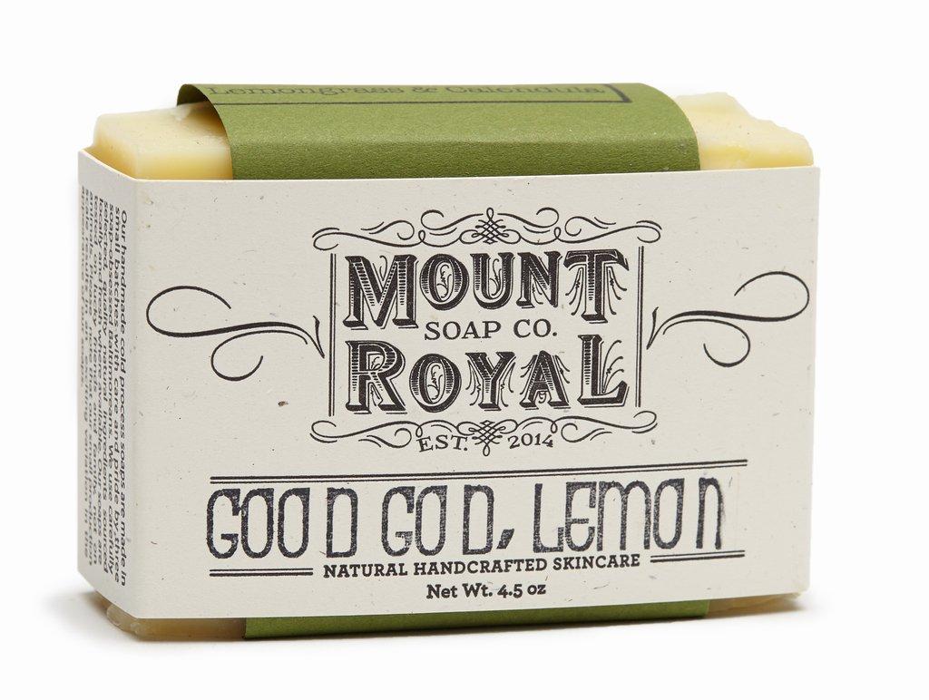 Good God Lemon Grass from Mount Royal Soap