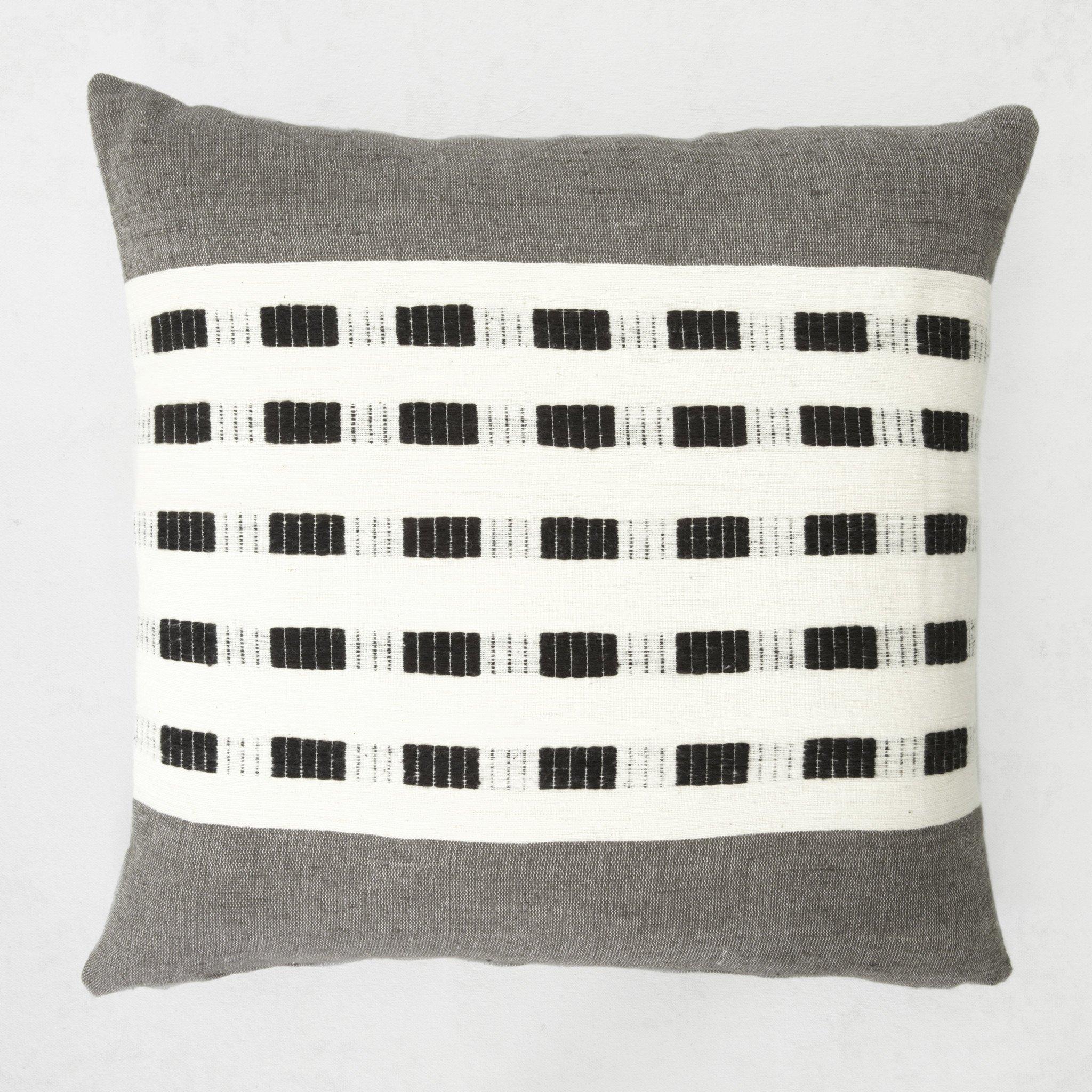 Handwoven Ethiopia Cotten Pillow
