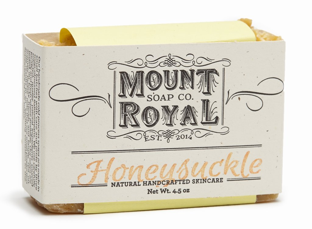 Mount Royal Soap: Honeysuckle - Shop our variety of Mount Royal soaps.