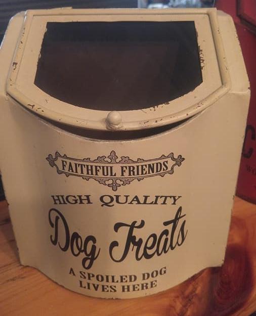Dog Treats Canister