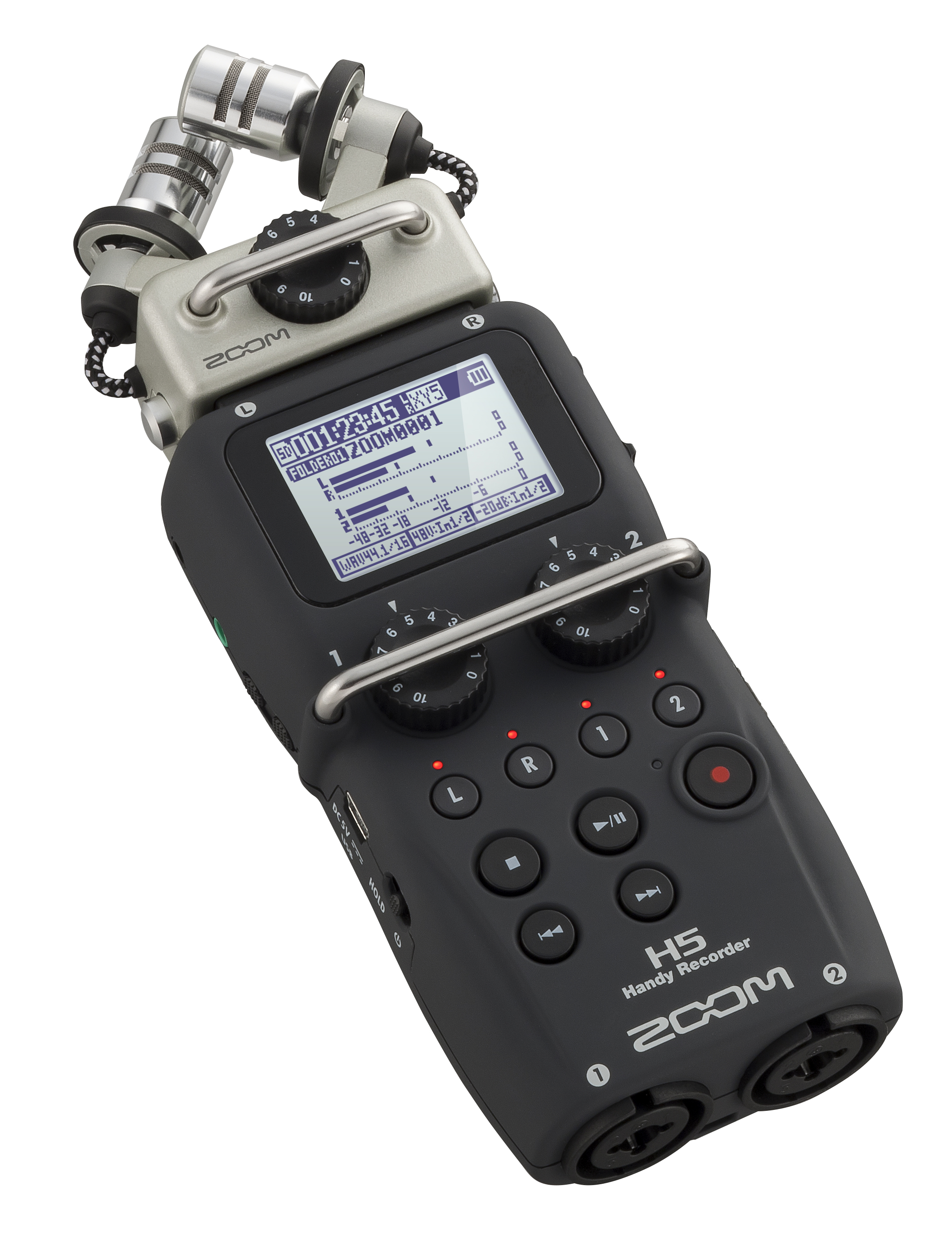 Zoom's H5 is a solid recorder for a reasonable price, with up to four channels to record on.