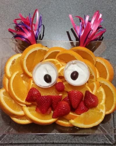 Sesame Street Abby Fruit Tray