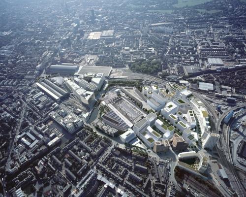 King's Cross St Pancras, London –  flexible masterplanning in urban regeneration