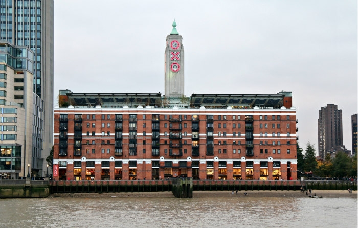 The Oxo Tower, London  – a flexible building with many lives.